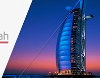 Logo Designed and Branding for Al Zurwah - Dubai