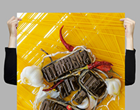 "Poster ""Spollo Kitchen"" / social graphic 2013"