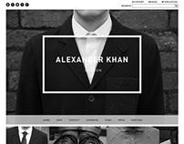 Alexander Khan Website