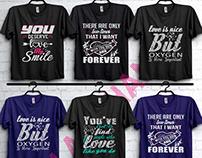 love t-shirt design.