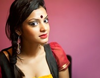 Beauty, the Bengali way.