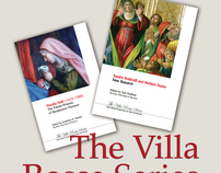 Cover and editorial design books in Villa Rossa Series