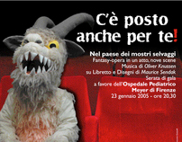 POS poster opera 'Where the Wild Things Are', Italy