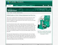 Calder Testers Website 2008
