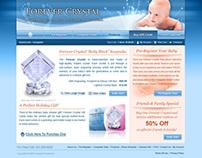 Forever Crystal Website 2008
