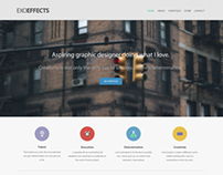 ExoEffects Web Design