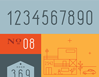 Ledgewood Numeral Set