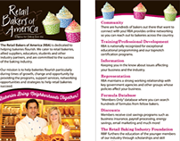 Retail Bakers of America Rack Card