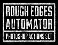 Rough Edges Automator Photoshop Actions
