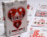 MUGHAL-E-AZAM PLAYING CARDS : COPYRIGHT: PLAY CLAN