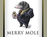 Merry Mole -  wine label