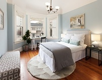 Staging of North Park Property, San Francisco, CA