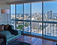 Staging of Pacific Heights Property, San Francisco, CA