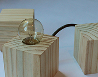 Product: basic wood lamp #1