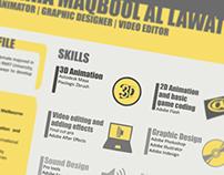 curriculum vitae (CV) Design
