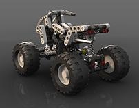 Technic Lego Quad