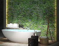 Bathroom - Ava/Wall Paper 2 (IT)