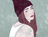 illustraded tattoo portraits project