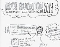 Arts Education Conference 2013 Sketchnotes