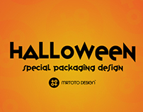 Halloween Drink Packaging Design