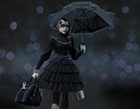 Goth Girl - Concept Sculpt
