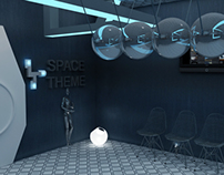 Space theme decoration