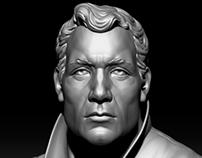 Clive Owen - Portrait Sculpt