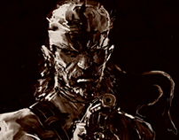 Solid Snake - Metal Gear Art Studio 2
