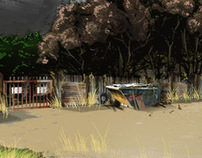 Lost Boys3.  Set Concept Art.