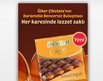 Karamel Dolgulu / ülker çikolata