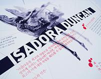 Isadora Duncan Brochure