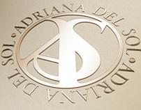 AdrianaDelSol Logo design