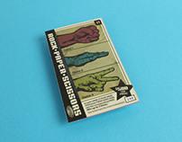 Rock Paper Scissors Scratch Ticket