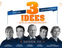 """Websérie """"3 idées sur le management"""""""