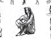 Disegno della figura umana, Modello nudo (portugal)