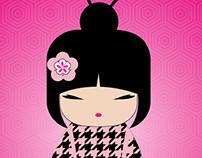 My creative kokeshi