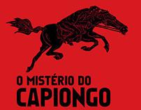 """Capas """"O mistério do Capiongo"""""""