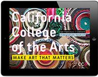 California College of the Arts Viewbook app