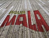 """Agua Mala""  Branding"