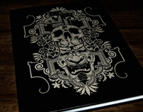 Etched Demon Sketchbook