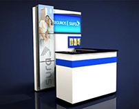 SEGUROS SURA :   INFO / SERVICES STAND