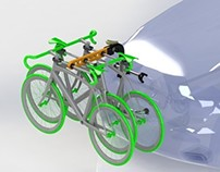 "Bicycle Car Rack ""Alp Calao"""