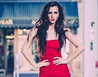 Alana-Woman in Red