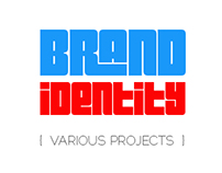 Brand Identity - Various Projects