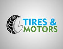 GL Tires and Motors Logo
