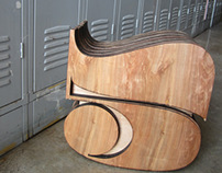 Typographic Chair Design