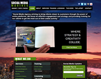 Social Media Marines - Website