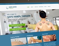 Safe Hands Therapy - Responsive Web Design