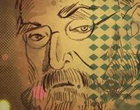 Portraits III - outline drawing