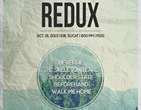 Redux Gig Posters